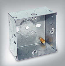 Galvanized Switch Socket Boxes